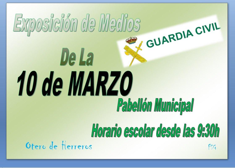 exposicion de medios de la guardia civil 10 de marzo 2017 (1)