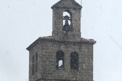 3-3-2020 - Nieva en el campanario