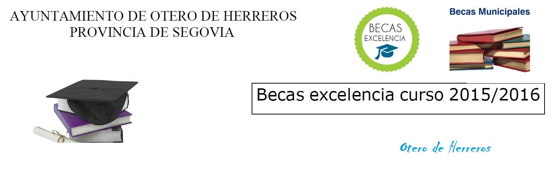 Becas Municipales Excelencia Académica