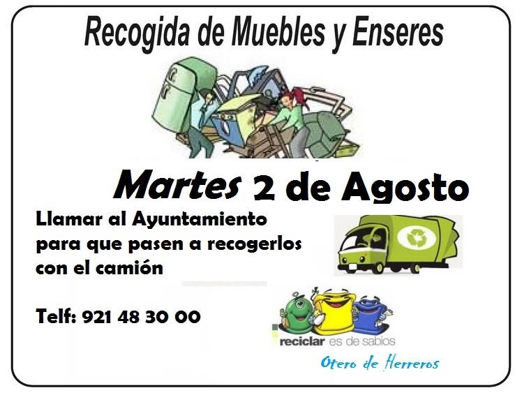 RECOGIDA DE ENSERES